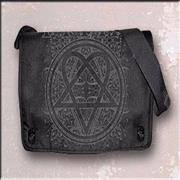 Click here for more info about 'H.i.m (His Infernal Majesty) - Printed Logo Messenger Bag'