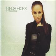 Click here for more info about 'Hinda Hicks - If You Want Me'