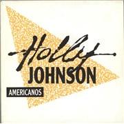 "Holly Johnson Americanos Spain 7"" vinyl Promo"