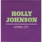 "Holly Johnson Atomic City Spain 7"" vinyl Promo"
