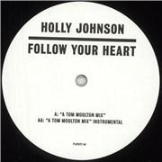 "Holly Johnson Follow Your Heart UK 12"" vinyl"