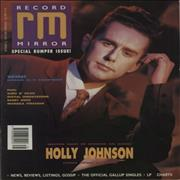 Click here for more info about 'Holly Johnson - Record Mirror'
