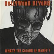 """Hollywood Beyond What's The Colour Of Money UK 12"""" vinyl"""