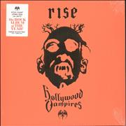 Hollywood Vampires Rise - Orange & Red Vinyl - Sealed UK 2-LP vinyl set