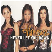 Click here for more info about 'Honeyz - Never Let You Down'