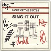 Click here for more info about 'Hope Of The States - Sing It Out - Autographed'