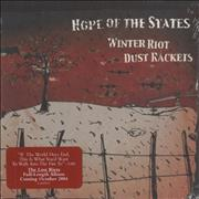 Click here for more info about 'Hope Of The States - Winter Dust Rackets'