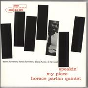 Click here for more info about 'Horace Parlan - Speakin' My Piece - 45RPM 180 Gram'