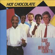 Click here for more info about 'Hot Chocolate - I Gave You My Heart (Didn't I)'