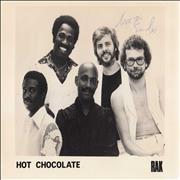 Click here for more info about 'Hot Chocolate - Signed Photograph'