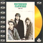 Click here for more info about 'Hothouse Flowers - Don't Go - CD-Video'