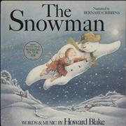 Click here for more info about 'Howard Blake - The Snowman - Stickered Sleeve + Poster'