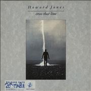 Click here for more info about 'Howard Jones - Cross That Line - promo stickered'