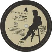 Click here for more info about 'Howard Jones - Things Can Only Get Better - White Vinyl'