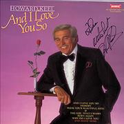 Click here for more info about 'Howard Keel - And I Love You So - Autographed'