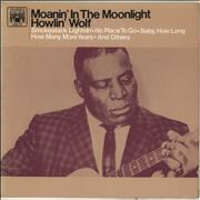 Click here for more info about 'Howlin' Wolf - Moanin' In The Moonlight - EX'