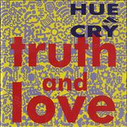 Click here for more info about 'Hue & Cry - Truth & Love'