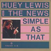 Click here for more info about 'Huey Lewis & The News - Simple As That'