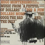 Click here for more info about 'Hugo Montenegro - Music From 'A Fistful Of Dollars' etc - red label'