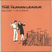 Click here for more info about 'Human League - Being Boiled - Red Label - Solid'