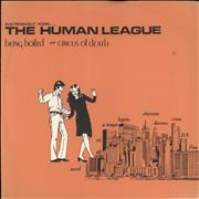 Click here for more info about 'Human League - Being Boiled - Red Label'