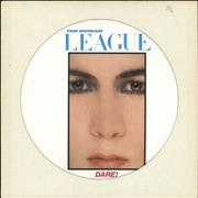 Click here for more info about 'Human League - Dare! - White'
