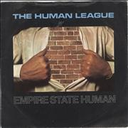 Click here for more info about 'Human League - Empire State Human - 1st issue'