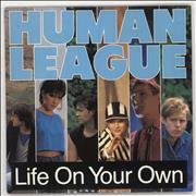 Click here for more info about 'Human League - Life On Your Own + Poster'
