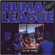 Click here for more info about 'Human League - Louise + Poster'
