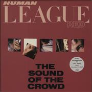 Click here for more info about 'Human League - The Sound Of The Crowd - stickered p/s'