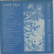 Click here for more info about 'Human Sexual Response - Andy Fell'