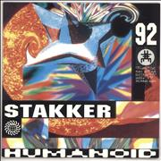 Click here for more info about 'Humanoid - Stakker Humanoid 92 - Grey Marbled Vinyl'