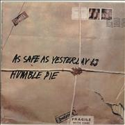 Click here for more info about 'Humble Pie - As Safe As Yesterday Is - White Label Variant + Shrinkwrap'