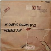 Click here for more info about 'Humble Pie - As Safe As Yesterday Is'