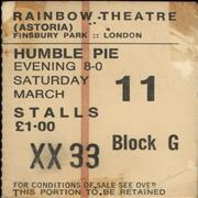 Click here for more info about 'Humble Pie - Rainbow Theatre 1972'