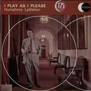 Click here for more info about 'Humphrey Lyttelton - I Play As I Please'