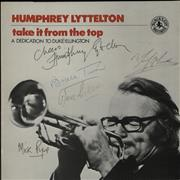 Click here for more info about 'Humphrey Lyttelton - Take It From The Top - Autographed'