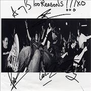Click here for more info about 'Hundred Reasons - Autographed Publicity Photograph'