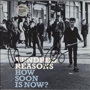 Click here for more info about 'Hundred Reasons - How Soon Is Now - Autographed'