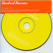 Click here for more info about 'Hundred Reasons - If I Could'