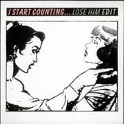 "I Start Counting Lose Him UK 7"" vinyl"