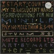 I Start Counting My Translucent Hands - Translucent Vinyl UK vinyl LP