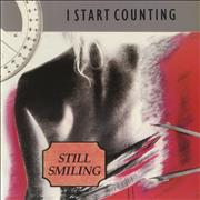 "I Start Counting Still Smiling UK 7"" vinyl"