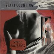 "I Start Counting Still Smiling UK 12"" vinyl"