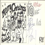 Click here for more info about 'IQ - Autographed Christmas Card'