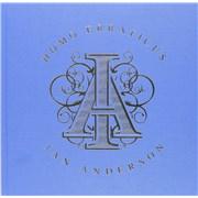 Ian Anderson Homo Erraticus - Sealed UK cd album box set