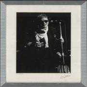 Click here for more info about 'Ian Dury - Black & White Framed Photograph - signed by Photographer'