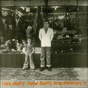 Click here for more info about 'Ian Dury - New Boots And Panties - EX'