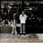 Click here for more info about 'Ian Dury - New Boots And Panties !!'