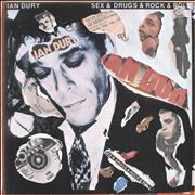 Click here for more info about 'Ian Dury - Sex & Drugs & Rock & Roll - Punk Art sleeve'